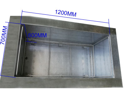 500L 大型超声波工业清洗机