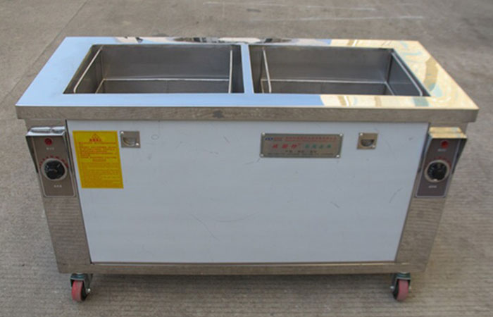 工业双槽式超声波清洗设备