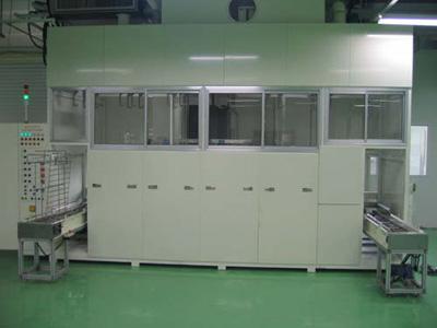 全自动精密五金电子零件超声波清洗机