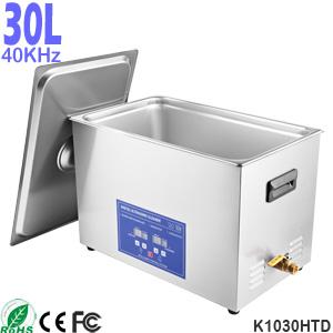 30L 不锈钢台式数码全自动超声波清洗机