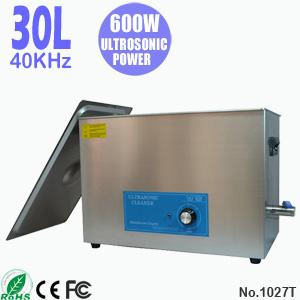 30L小型超声波清洗设备 工业用全自动超声波清洗机 1027T