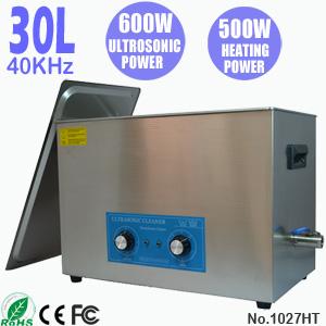 30L小型工业超声波清洗机 五金零件除油自动清洗机 1027HT
