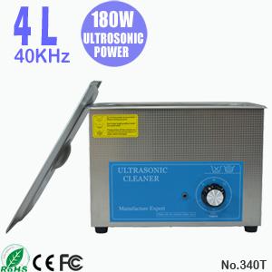 4L台式小型超音波清洗机 珠宝首饰超声波清洗机设备 340T