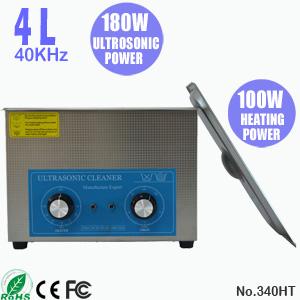 4L带加热小型超声波清洗机 电路板主板超声波清洗器 340HT