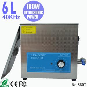 6L手机玻璃超声波清洗机 电子行业用小型零配件清洁器 360T