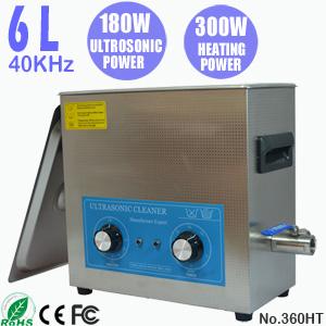 6L小型工业超声波清洗机 PCB线路板电路板自动清洗机 360HT