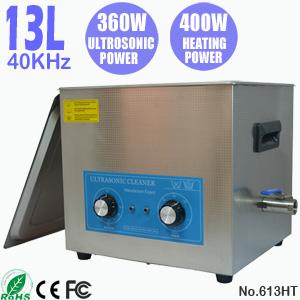 13L小型便携式超声波清洗机 工业小五金配件除油机 613HT