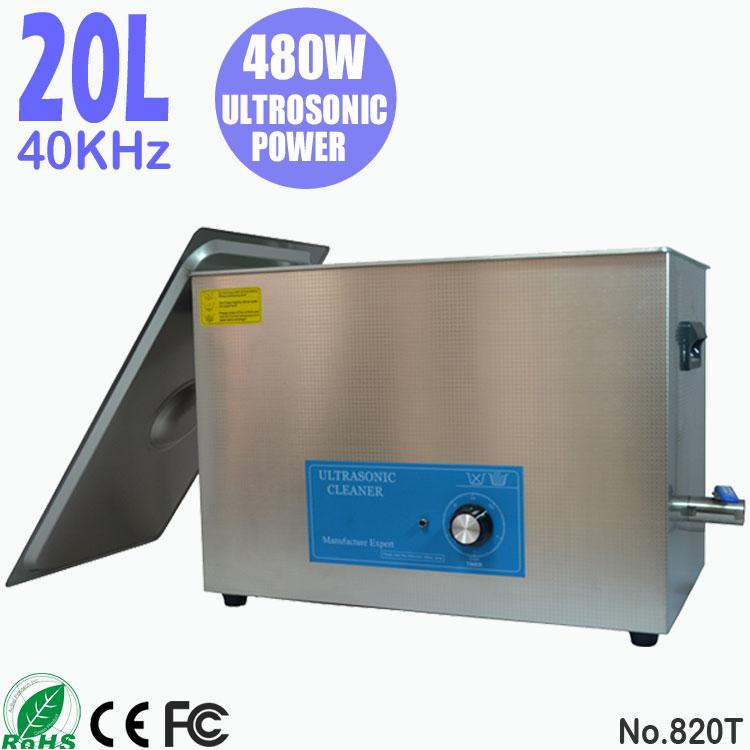 20L不锈钢超声波清洗机 五金日用品 全自动麻将清洗机 820T