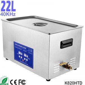 20L 不锈钢台式工业五金超声波清洗设备